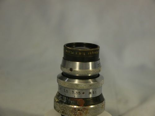 '      7.5CM C Mount Meyer -NICE-VERY RARE- ' Meyer Tele Megor C Mount 7.5cm 75mm F4  C Mount Lens -RARE-NICE-DIGITAL COMP- £199.99